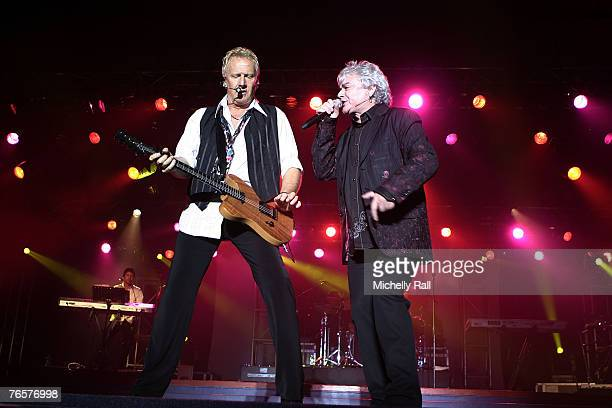 Air Supply perform live at the His People Cente on September 5 2007 in Cape Town Soth Africa