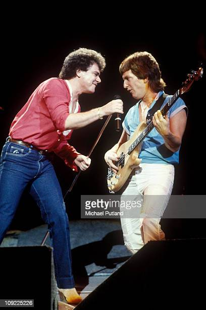 Air Supply performs on stage in Los Angeles United States October 1983 Russell Hitchcock