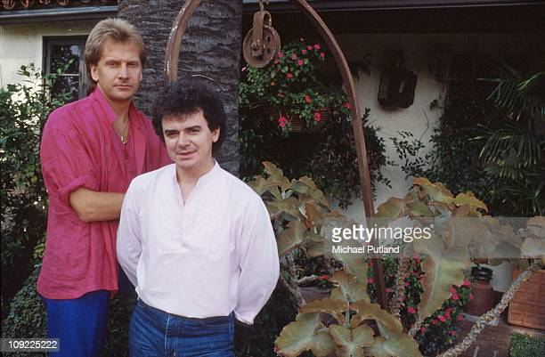 Air Supply portrait session in Los Angeles United States October 1983 Graham Russell Russell Hitchcock