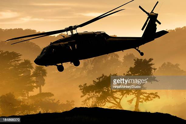 Air Support Army Helicopter