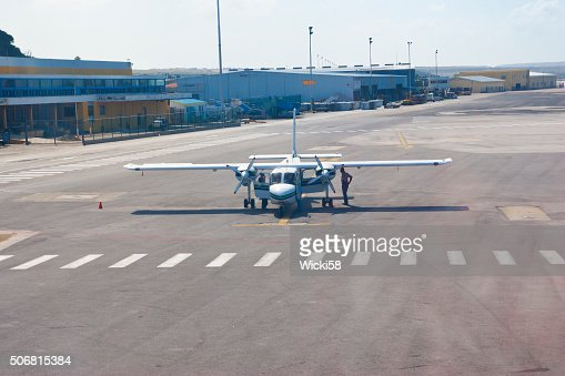 Air Taxi getting checked for the next departure