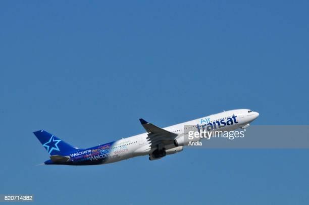 Air Transat Airbus A330CGTSD