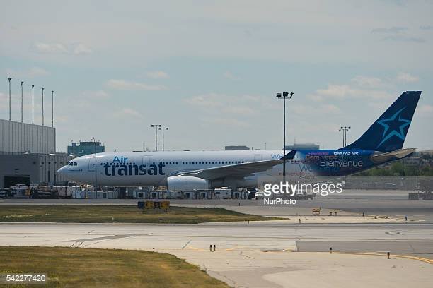 air transat stock photos and pictures getty images