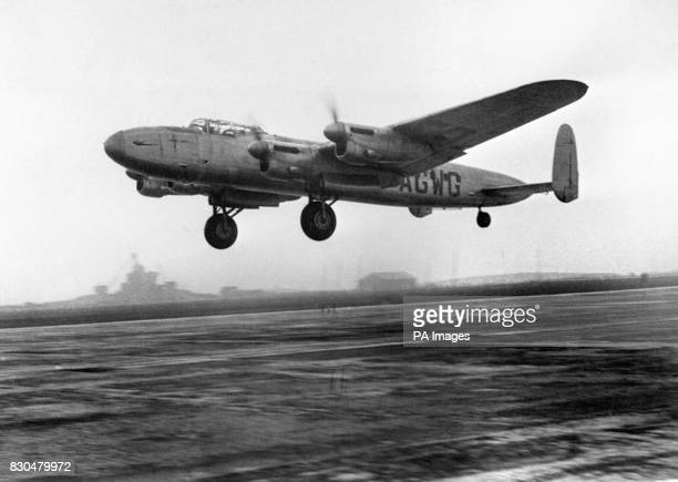 Air Vice Marshal Donald Bennett who formed and led the RAF's Pathfinder Force inaugurated the transfer of Heathrow aerodrome from military to Civil...