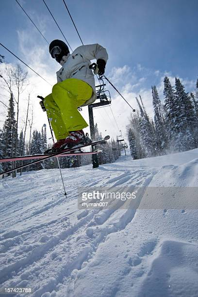 Airborne Skier