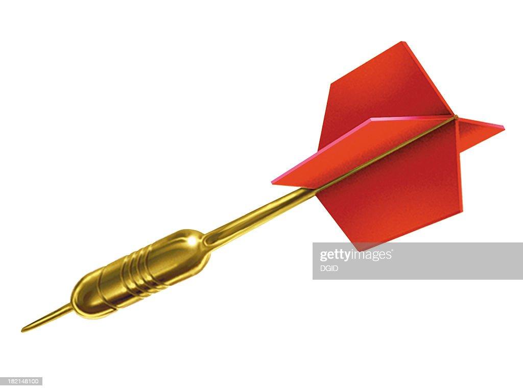 airbrush art -  Dart Arrow : Stock Photo