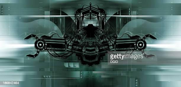 Airbrushed Background - Futurisme 05