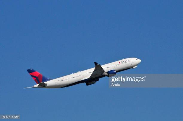 Airbus A330N821NW belonging to the American airline Delta Air Lines