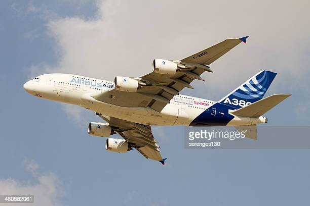 Airbus A380 Aircraft in flight