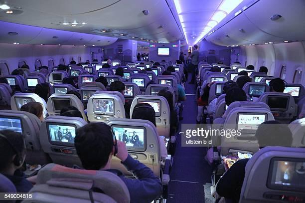 Airbus A380 der EMIRATES