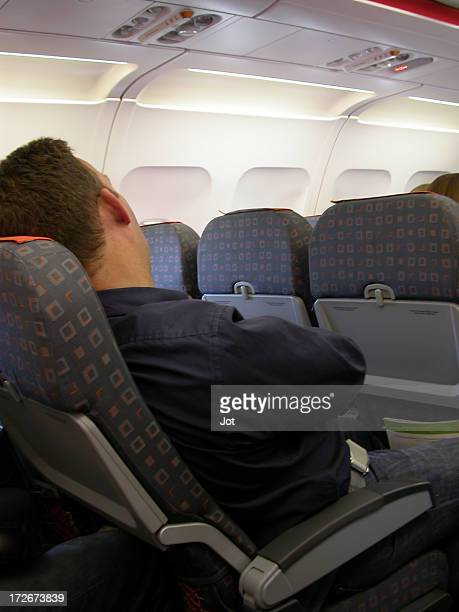 Flugzeug-Asleep
