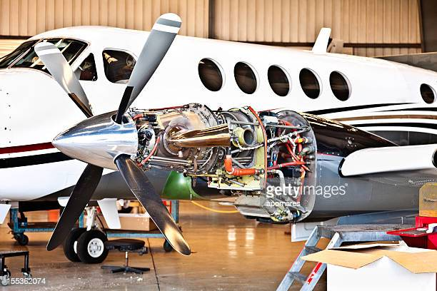 Aircraft engine maintenance