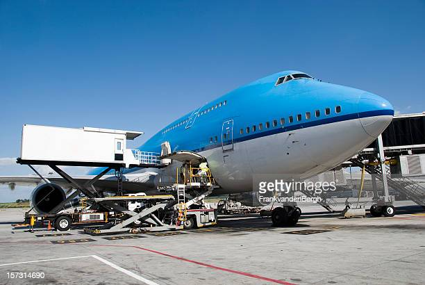 Aircraft handling of a boeing 747