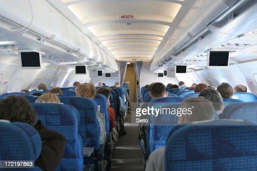 Interieur avion photos et images de collection getty images for Interieur avion