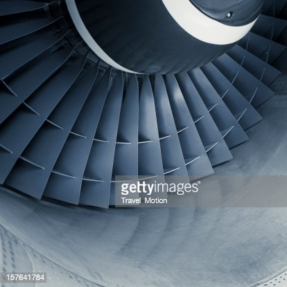 Aircraft jet engine turbine