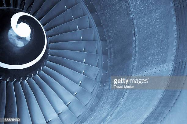Flugzeug jet engine turbine
