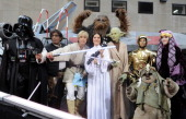 Ann Curry as Darth Vader Al Roker as Han Solo Matt Lauer as Luke Skywalker Meredith Vieira as Princess Leia Hoda Kotb as Yoda Kathie Lee Gifford as...