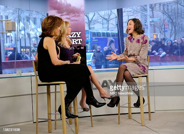 Hoda kotb kathie lee gifford and maggie gyllenhaal appear - Nbc today show kathie lee and hoda ...