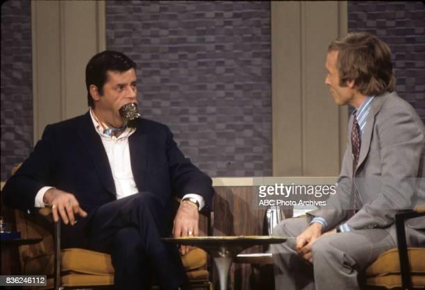 January 27 1973 JERRY LEWISDICK CAVETT talent JERRY photographer ABC Photo Archives credit ABC source American Broadcasting Companies Inc cap writer...