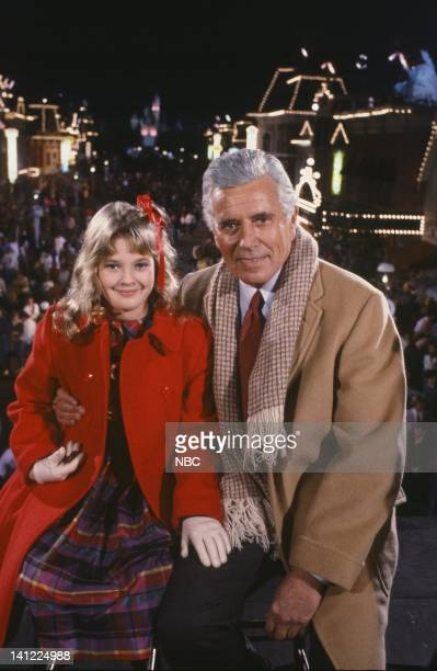 S 30TH ANNIVERSARY CELEBRATION Aired Pictured Actress Drew Barrymore actor John Forsythe Photo by Paul Drinkwater/NBCU Photo Bank