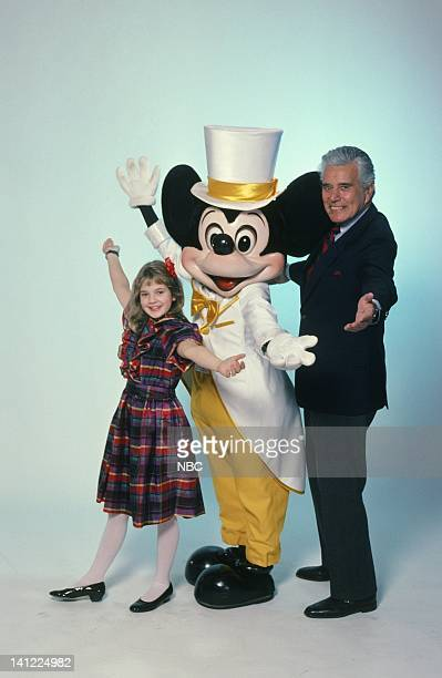 S 30TH ANNIVERSARY CELEBRATION Aired Pictured Actress Drew Barrymore Mickey Mouse actor John Forsythe Photo by Herb Ball/NBCU Photo Bank