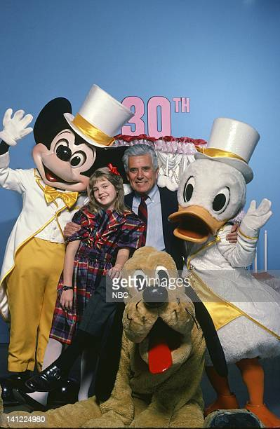 S 30TH ANNIVERSARY CELEBRATION Aired Pictured Mickey Mouse Actress Drew Barrymore actor John Forsythe Goofy Donald Duck Photo by Herb Ball/NBCU Photo...