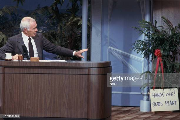 Host Johnny on September 17 1987 Photo by Wendy Perl/NBCU Photo Bank via Getty Images