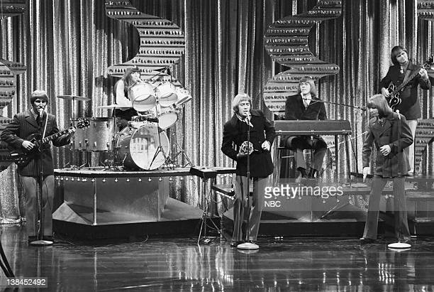 Musical guests The Carpenters perform on November 13 1970