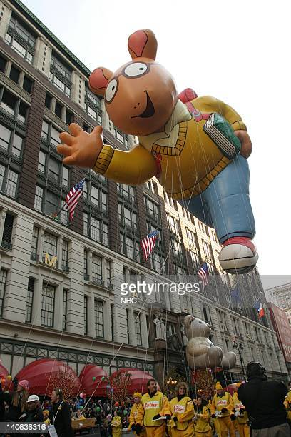 S 77TH THANKSGIVING DAY PARADE Aired Pictured Arthur balloon at the 2003 Macy's Thanksgiving Day Parade Photo by NBCU Photo Bank