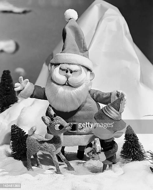 Rudolph the RedNosed Reindeer Santa Claus elf