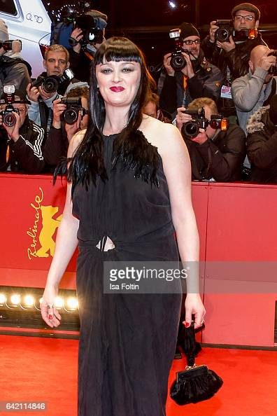 AIrish singer Bronagh Gallagher attends the 'Return to Montauk' premiere during the 67th Berlinale International Film Festival Berlin at Berlinale...