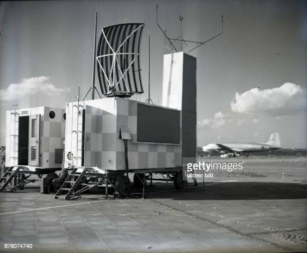 radar unit at Tempelhof airport