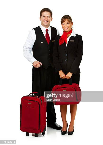 Airline: Flight Crew with Luggage