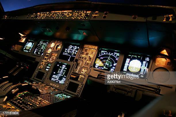 航空会社のフライトデッキ