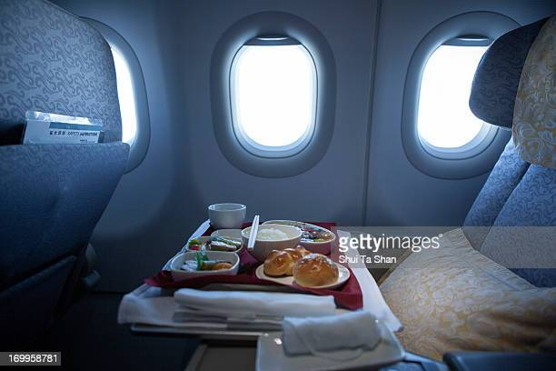 airline meal for business class
