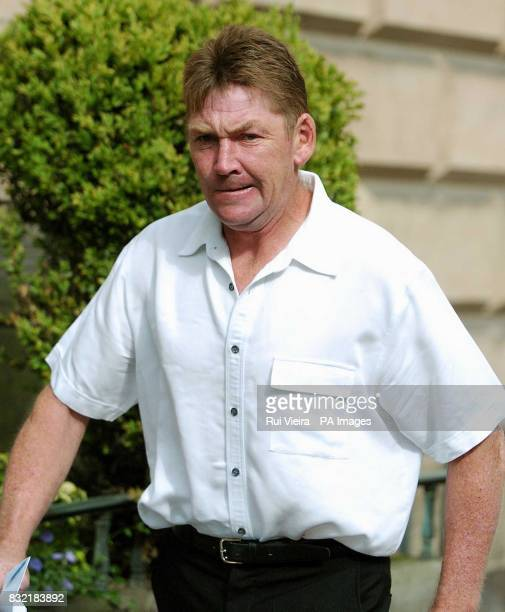 Airline passenger James Tully arrives at Warwick Crown Court Thursday August 3 2006 due to be sentenced for perpetrating a bomb hoax as he checked in...