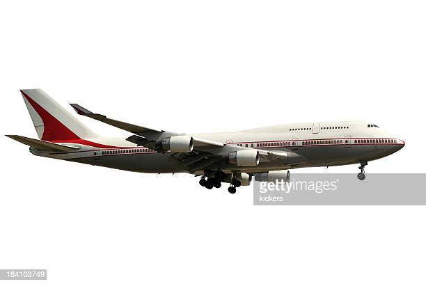 Airliner, isolated on white