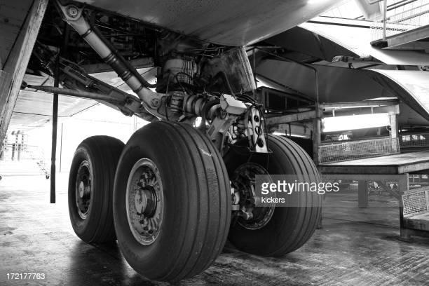 Avión principal engranajes