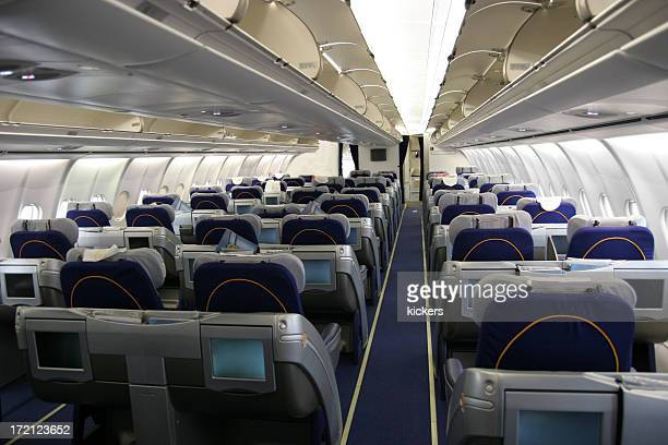 Airliner passenger cabin