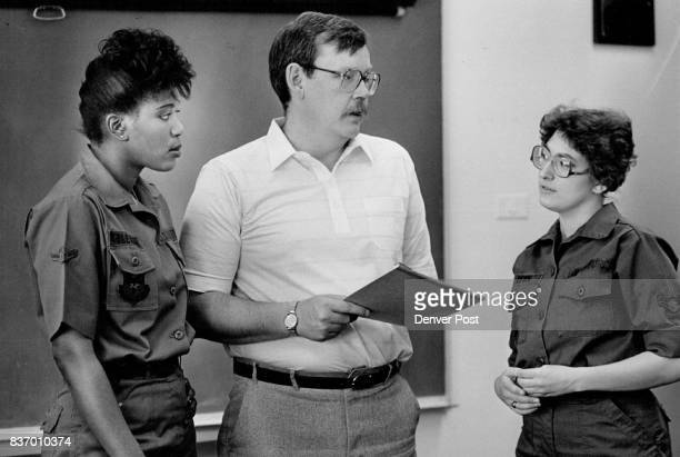 Airman Marie Coleman 3450th Technical Training group Jim Brems Education Counsellor Airman 1st Class Kathy Ison base Public affairs office Credit The...