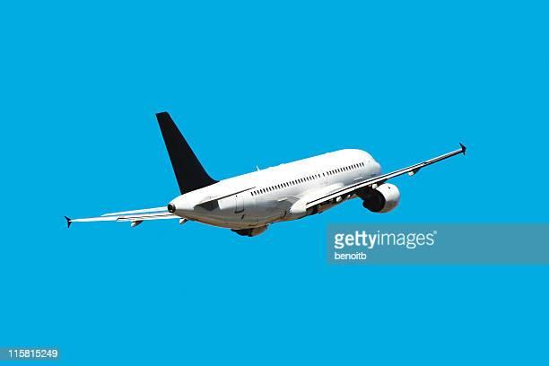 飛行機ブルースカイ