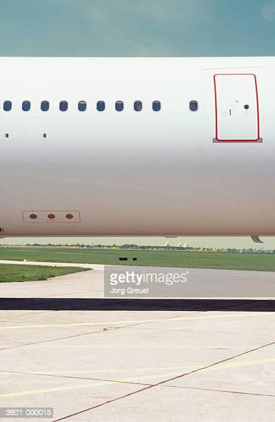 Airplane by Runway
