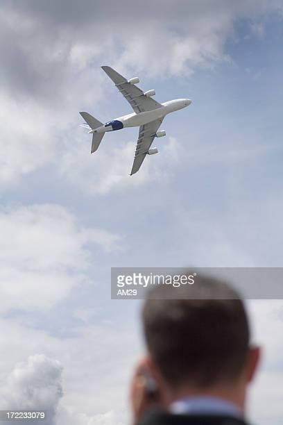 airplane decollage