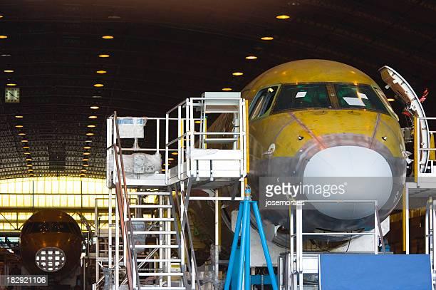 Flugzeug-Industrie
