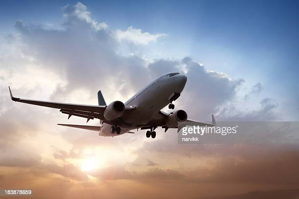 Avión Landing