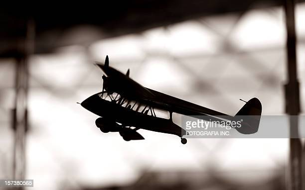 Silhouette avion modèle