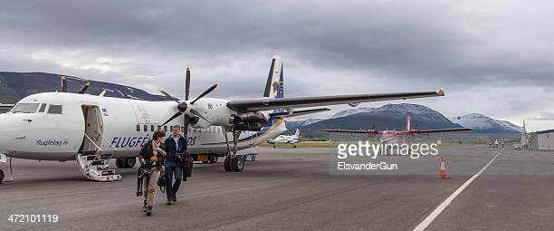 Airplane on Akureyri airport