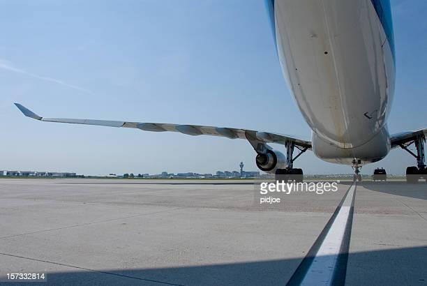 airplane on tarmac