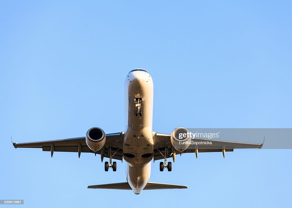 Avião. : Foto de stock