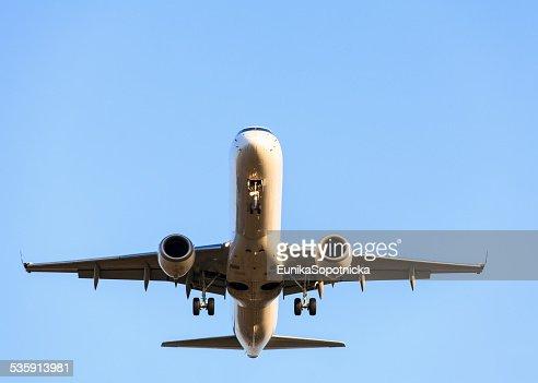 Avión. : Foto de stock